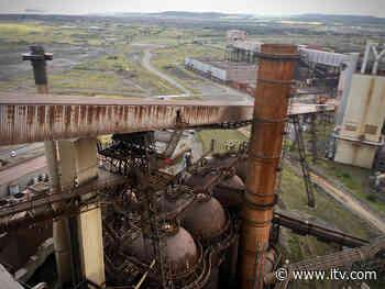 Work to demolish Teesside steelworks site starts today - ITV News