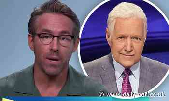 Ryan Reynolds reflects on his last phone call with late Jeopardy host Alex Trebek