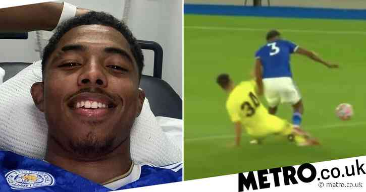 Wesley Fofana provides update on horrific injury he sustained in Leicester's pre-season clash with Villarreal