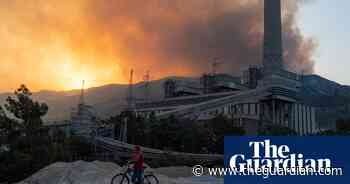Turkish town evacuated as wildfire reaches power station