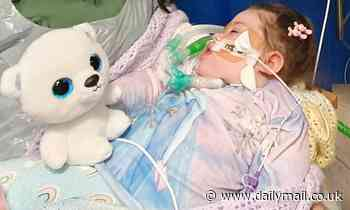 Parents of brain-damaged girl, 2, left devastated after court rules treatment should be withdrawn
