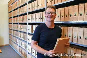Das Stadtarchiv Schopfheim soll digitaler werden - Schopfheim - Badische Zeitung