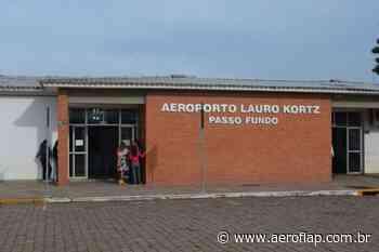 Investimento federal garante nova pista no Aeroporto de Passo Fundo (RS) - Aeroflap
