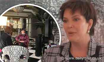 Kris Jenner bids farewell to Keeping Up With The Kardashians at THAT Hidden Hills mansion