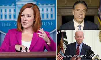 Psaki brushes off question whether Biden should be subject to an investigation similar to Cuomo's