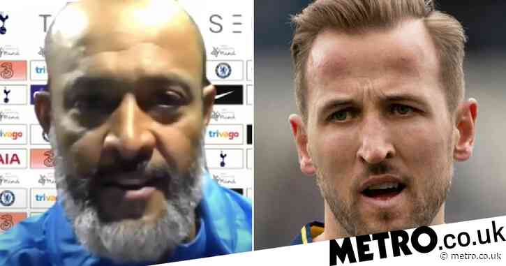 Nuno Espirito Santo speaks out on Harry Kane's stand-off with Tottenham after Chelsea draw