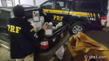 PRF apreende picape com 645 litros de agrotóxico irregular, em Santa Maria - SBA1 | Sistema Brasileiro do Agronegócio - SBA - Sistema Brasileiro do Agronegócio