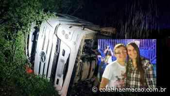 Vídeo | Casal de Santa Maria de Jetibá morre em acidente na Bahia - Colatina em Ação