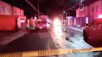 Jornada violenta en Zacatecas: Reportan balaceras en Valparaíso y en bar de Guadalupe - Uno TV Noticias