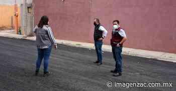 Reencarpetan cinco privadas en Colonia Valles I de Guadalupe - Imagen de Zacatecas, el periódico de los zacatecanos