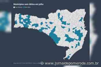 97 municípios não registraram óbito por Covid-19 em julho - Jornal de Pomerode
