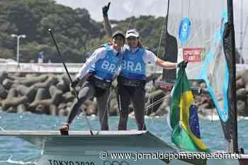 Martine Grael e Kahena Kunze são bicampeãs olímpicas na classe 49er FX - Jornal de Pomerode