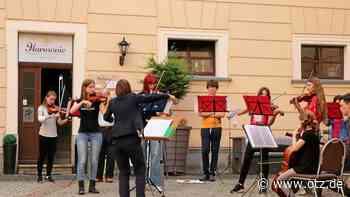 Hofmusik in Greiz zum Abschluss eines kurzen Unterrichtsjahres - Ostthüringer Zeitung