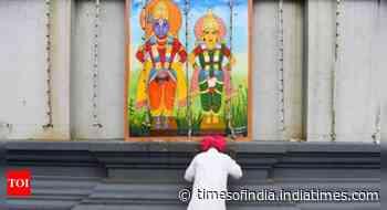 Coronavirus victim's wife donates Rs 1 crore to Maharashtra's Pandharpur temple - Times of India