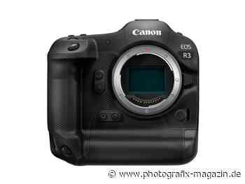 Bestätigt: Canon EOS R3 mit 24 Megapixeln - Photografix Magazin