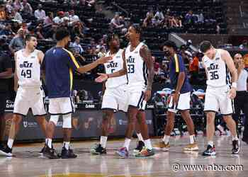 Utah Jazz teams sweep San Antonio, Memphis on day two at SLC Summer League