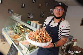 Honfleur : Morgan Buhot ouvre un bar à huîtres rue de la République - actu.fr