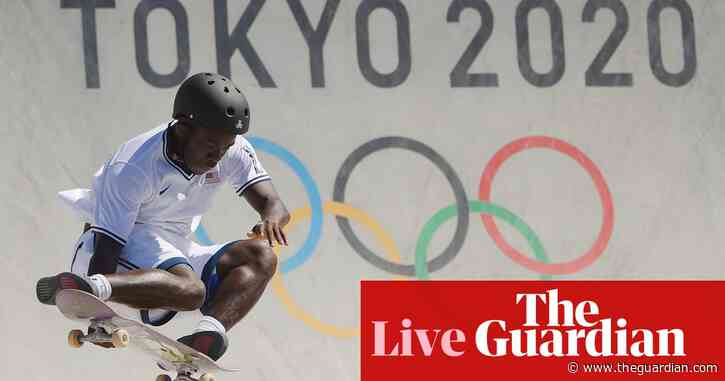 Tokyo 2020 Olympics: Australia to face USA in beach volleyball final, 110m hurdles, skateboarding, basketball and more – live!