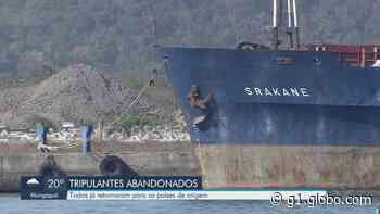 Tripulantes de navio abandonado no Porto de Santos, SP, são repatriados - G1
