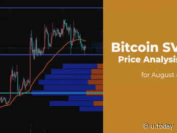 Bitcoin SV (BSV) Price Analysis for August 4 - U.Today