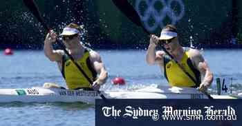 Australia wins first gold in men's K2 kayak in Olympic history