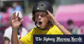 Keegan Palmer scores Australia's first skateboarding gold medal