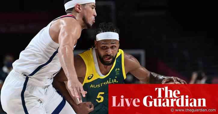 Tokyo 2020 Olympics: USA v Australia in basketball semi-final, skateboarding finals and more – live!