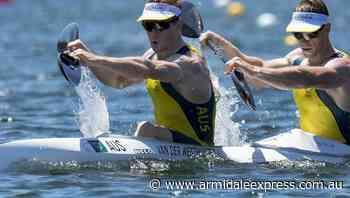 Aussie kayakers win gold in K2 sprint - Armidale Express