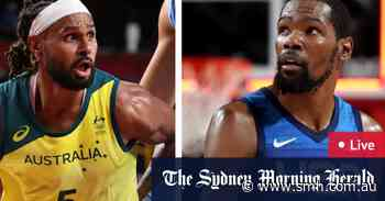 Tokyo Olympics LIVE updates: Australian Boomers take early lead over Team USA