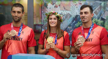 Kanu-Olympiasieger werden in Augsburg wilkommen geheißen - News Augsburg, Allgäu und Ulm - TRENDYone - das Lifestylemagazin