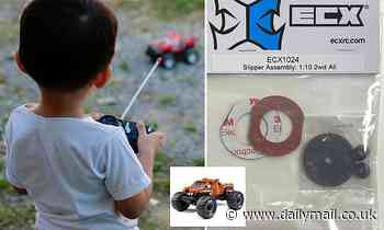 Children's remote controlled cars sold across Australia since 2016 recalled for asbestos fears