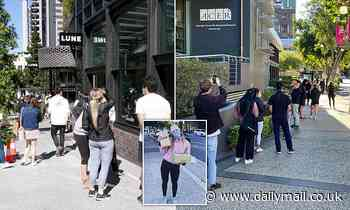 Covid-19 Queensland: Hundreds of Brisbanites seen queueing from 5am for Lune Croissanterie opening