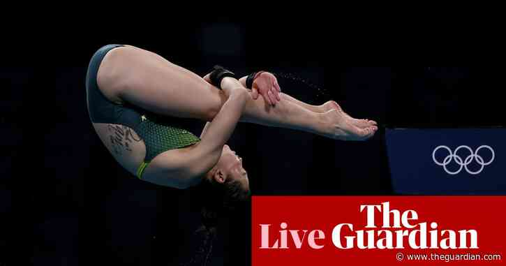 Tokyo 2020 Olympics: US men into basketball final, decathlon heats up, diving and more – live!