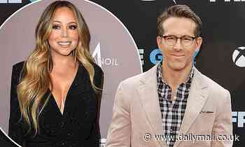Ryan Reynolds admits to being a 'huge Mariah Carey fan' and gushes over using Fantasy in Free Guy