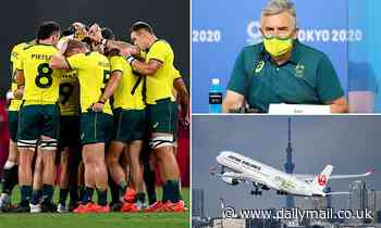 'That's what sick bags are for': Aussie Olympians downplay boozy, vomit-strewn return flight