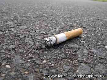 Man fined over £200 for dropping cigarette butt