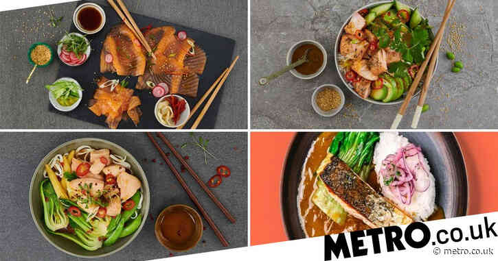 Four Japanese-inspired salmon recipes as sales of the fish soar during the Olympics