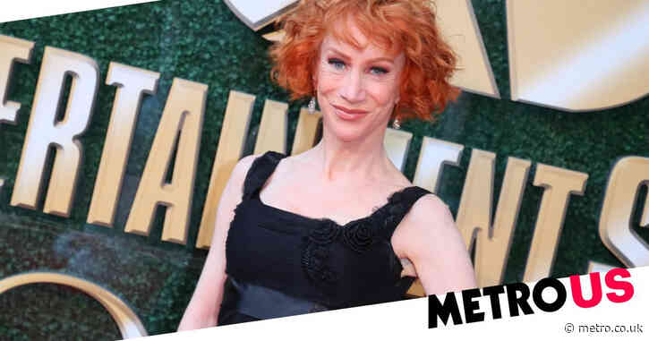 Kathy Griffin 'fears drugs and addiction more than cancer' as she stops taking prescription painkillers post-surgery