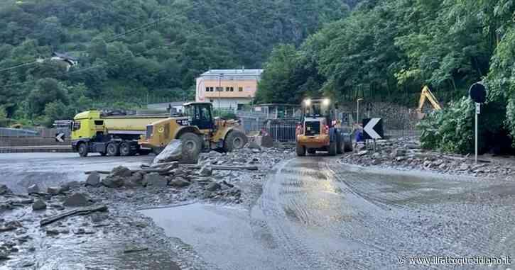 Alto Adige, bloccata la statale del Brennero dopo le piogge. Chiusa anche la ferrovia – video