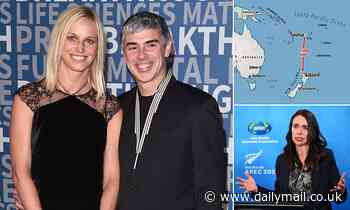 Billionaire Google co-founder Larry Page was allowed to enter New Zealand from Fijian island