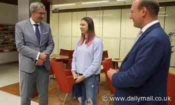 Belarusian sprinter arrives in Poland after fleeing Tokyo Olympics