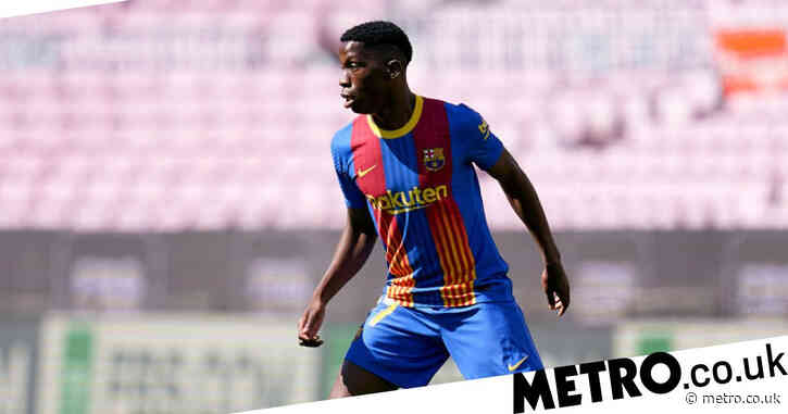 Barcelona confirm that Chelsea target Ilaix Moriba can leave this summer