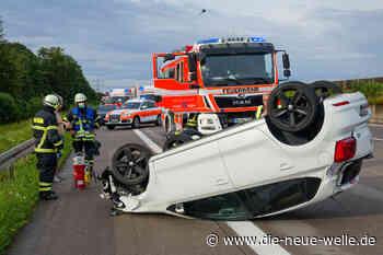Zwei Unfälle auf A5 bei Bühl und A8 bei Karlsbad fordern Verletzte - die neue welle