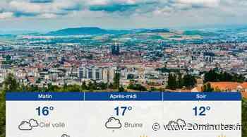Météo Clermont-Ferrand: Prévisions du mardi 3 août 2021 - 20minutes.fr