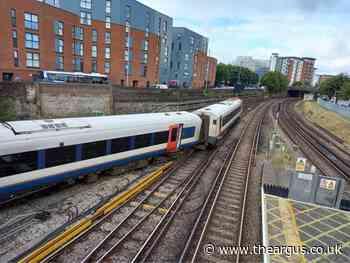 Brighton trains disrupted after derailment in Fratton