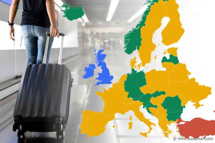 Changes to green, amber, red list for Scotland as seven countries added to green list, travellers to France no longer need to isolate - The Scotsman