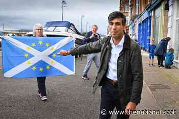 Apologise to Scots, SNP MP tells Rishi Sunak on visit to Scotland - The National