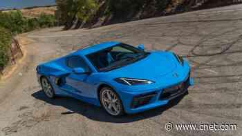 2021 Chevy Corvette Stingray turns heads, snaps necks     - Roadshow