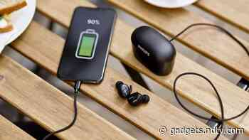Philips TWS Earbuds That Double as a Power Bank Launched in India