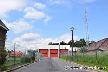Bewoners rond brandweerkazerne moeten voorzichtig zijn met g... (Assenede) - Het Nieuwsblad